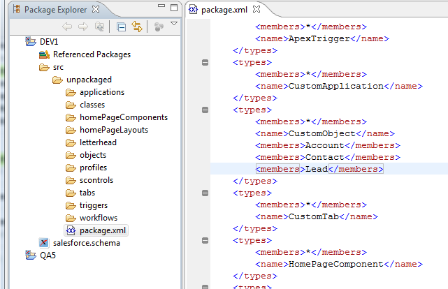 Migrating Salesforce com Configurations with the Metadata