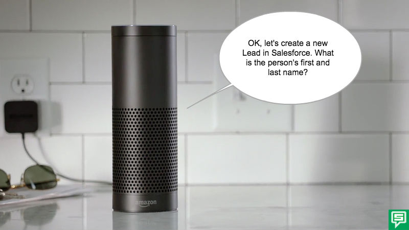 Alexa for Salesforce with Amazon Echo